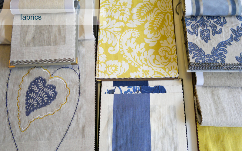 fabrics and textiles for interior home furnishing, Custom House Design.