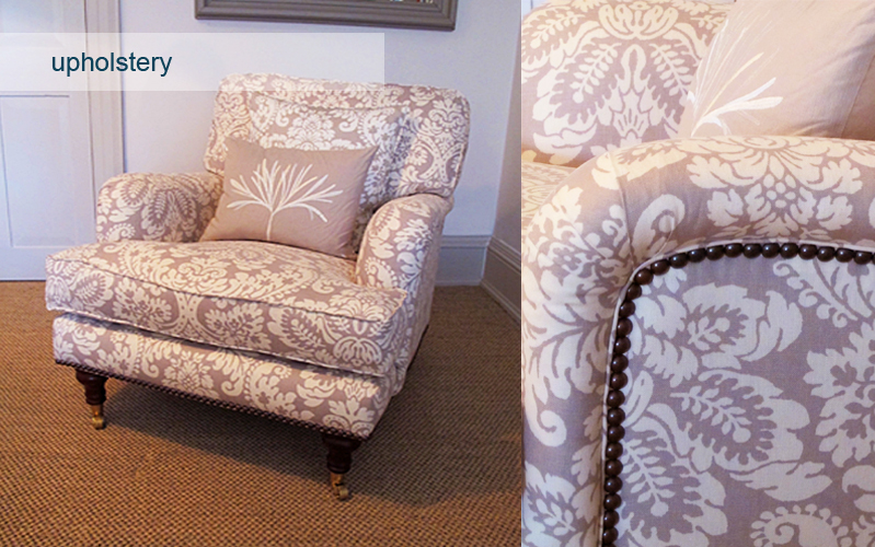 upholstery, Custom House Design, Cullompton, Devon.